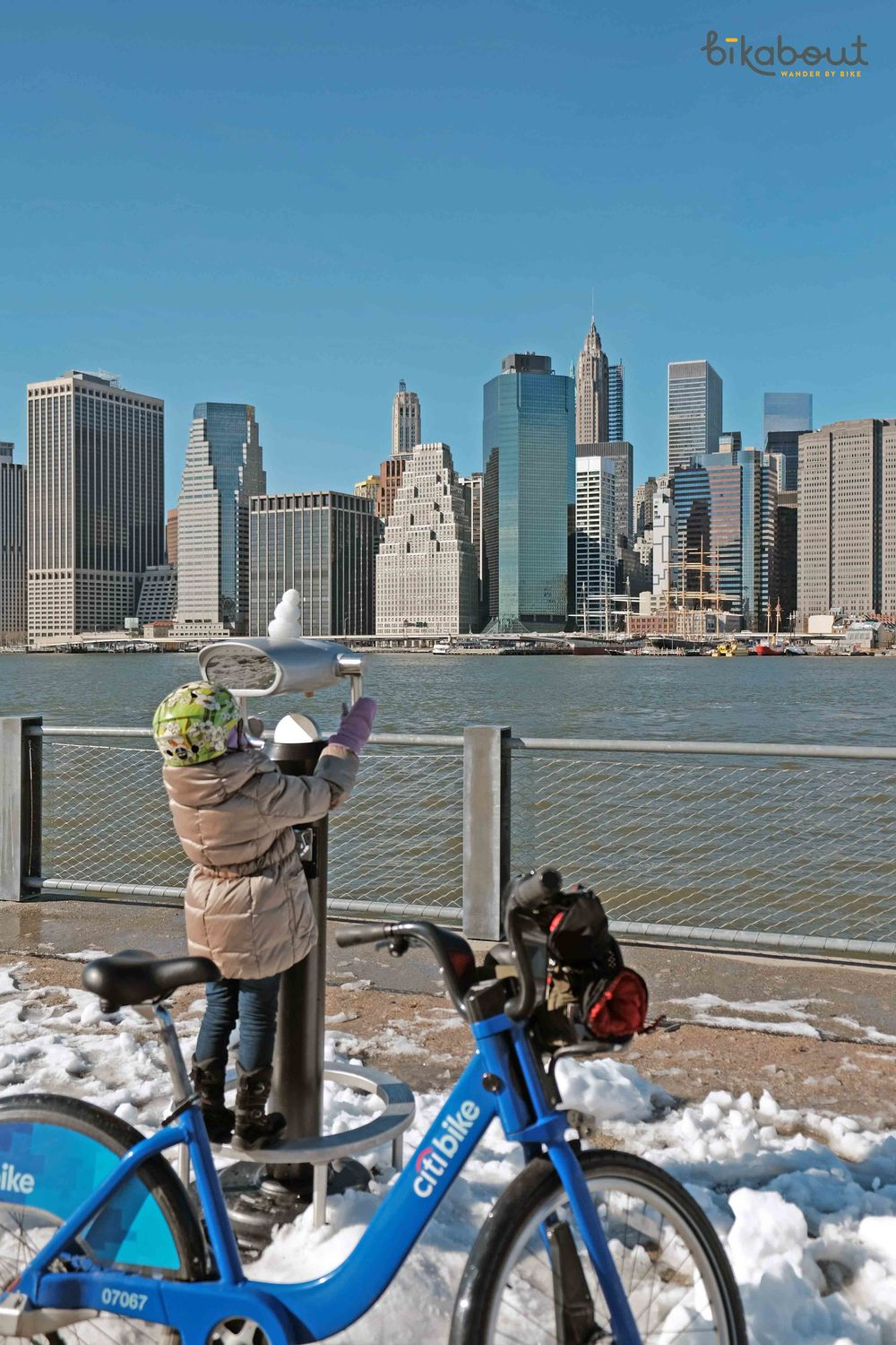 Citibike in New York is the largest bike share system open throughout the year.