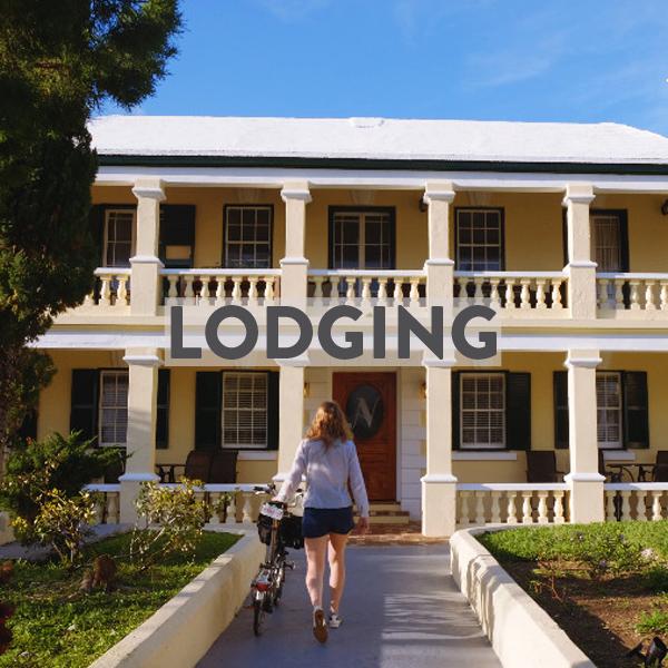bike friendly hotels & airbnbs in Bermuda