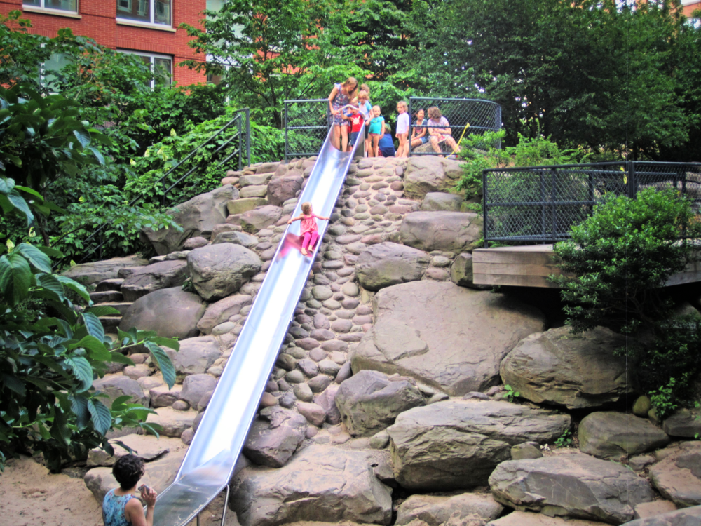Teardrop Park, Manhattan NYC