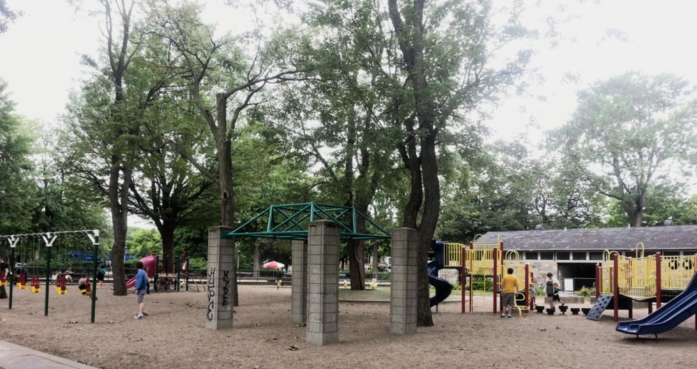 Parc la Fontaine, Montreal, Canada