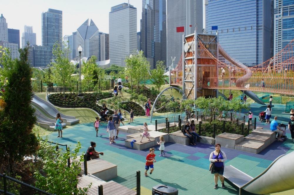 Maggie Daley Park, Chicago IL