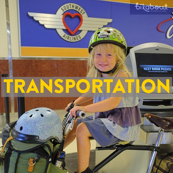 bike friendly airlines, trains, buses in New Albany & Oxford