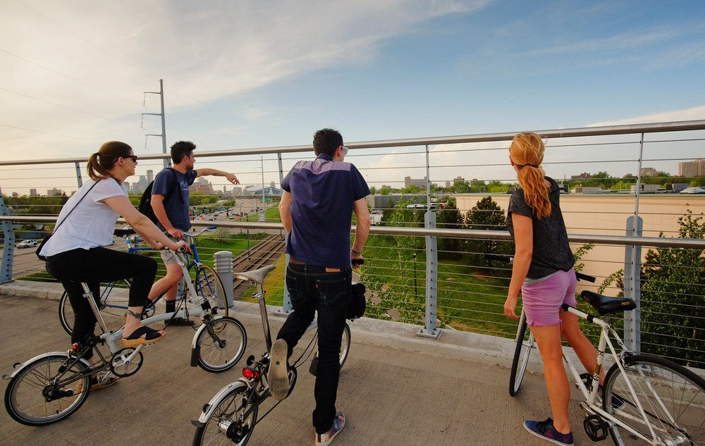 Sabo Bridge and Midtown Greenway