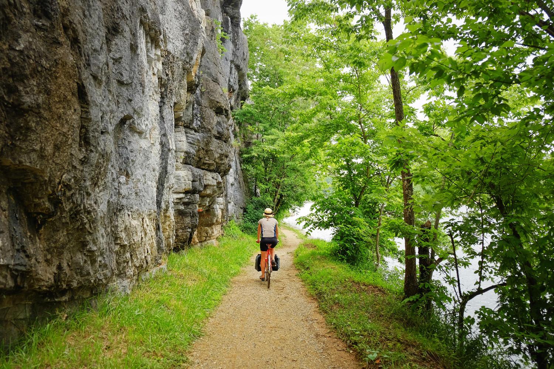 GAP Trail And CO  Bikabout - Washington dc bike lane map