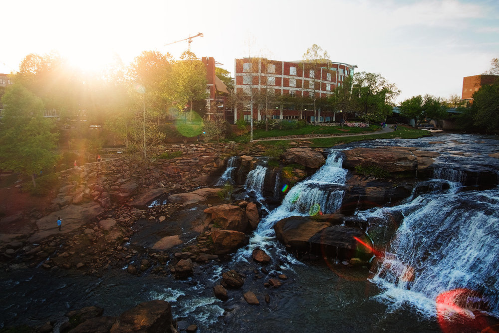 Falls Park on Reedy