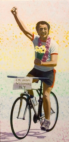 May 22nd is Harvey Milk Day! Painting by Hugo Kobayashi. Photo by Luke Thomas.