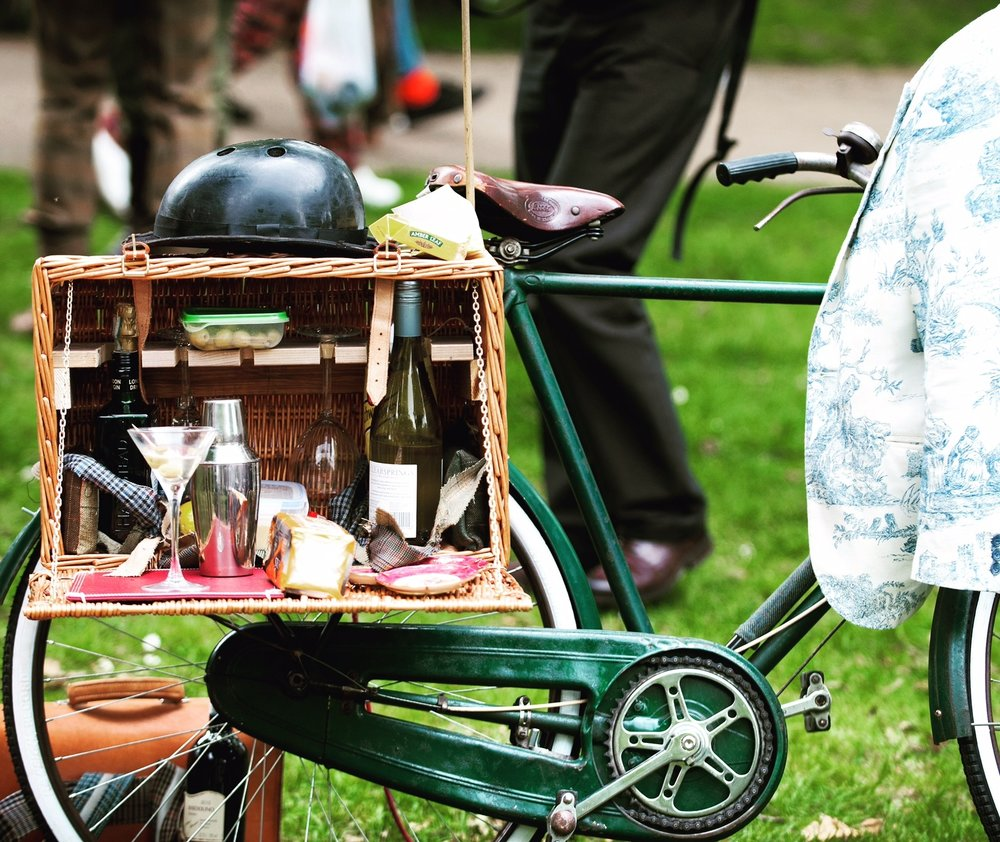 Tweed Ride bike picnic. Photo by Massif Central blog.