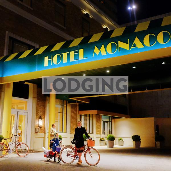 Bike friendly hotels & airbnbs in Salt Lake City