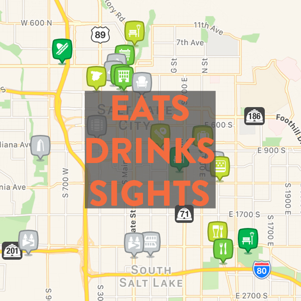 Best bikeable eats, drinks & sights in Salt Lake City