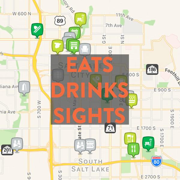 Best bikeable eats, drinks & sights in Salt Lake City