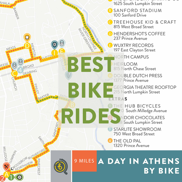 Best Bike Rides in Athens