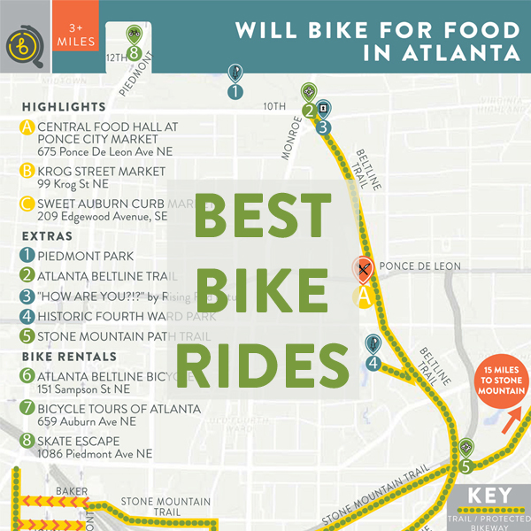 Best Bike Rides in Atlanta