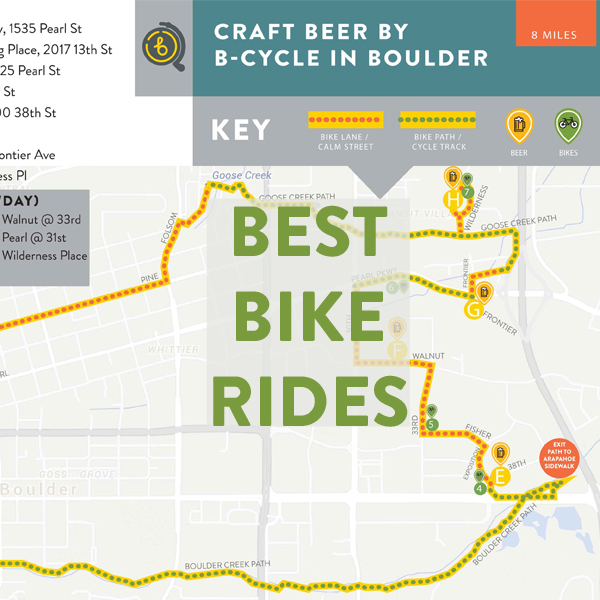 Best Bike Rides in Boulder and Fort Collins