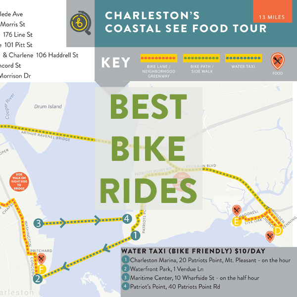 Best Bike Rides in Charleston