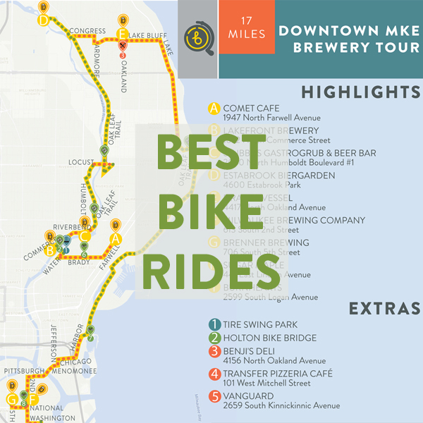 Best Bike Rides in Milwaukee