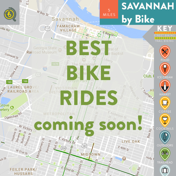 Best Bike Rides in Savannah