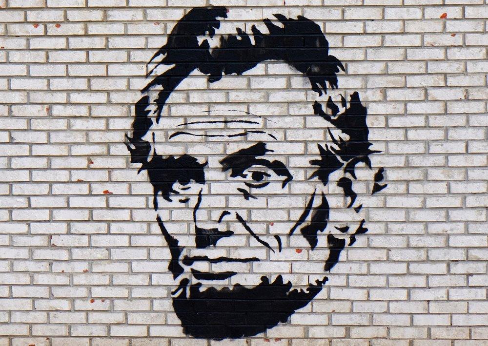 Mural in Red Hook