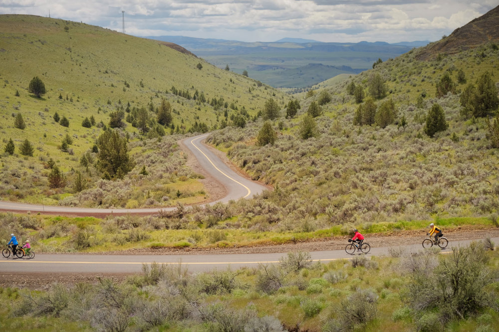 Journey Through Time Scenic Byway's amazing switchbacks and downhills
