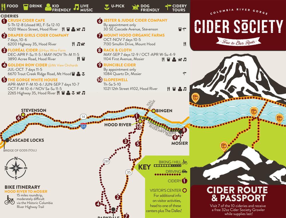 Gorge Cider Cider Brochure