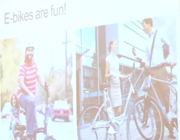 John MacArthur's Ebike user presentation at the Washington Bike Summit