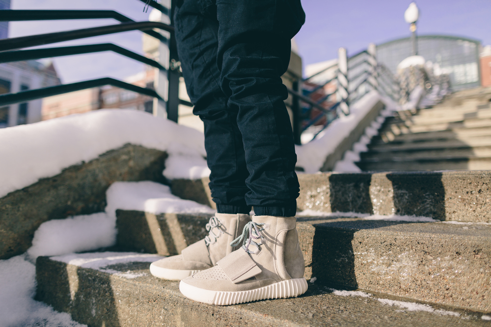 d47b0f00b5a0a On Foot Look at the Adidas Yeezy 750 Boost + Sizing Info — Sneaker ...