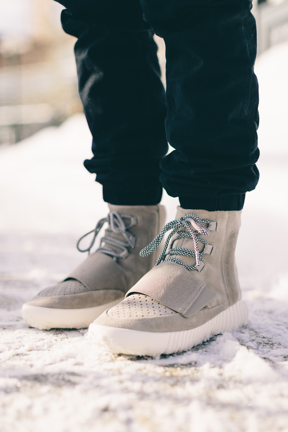 750 yeezy on feet