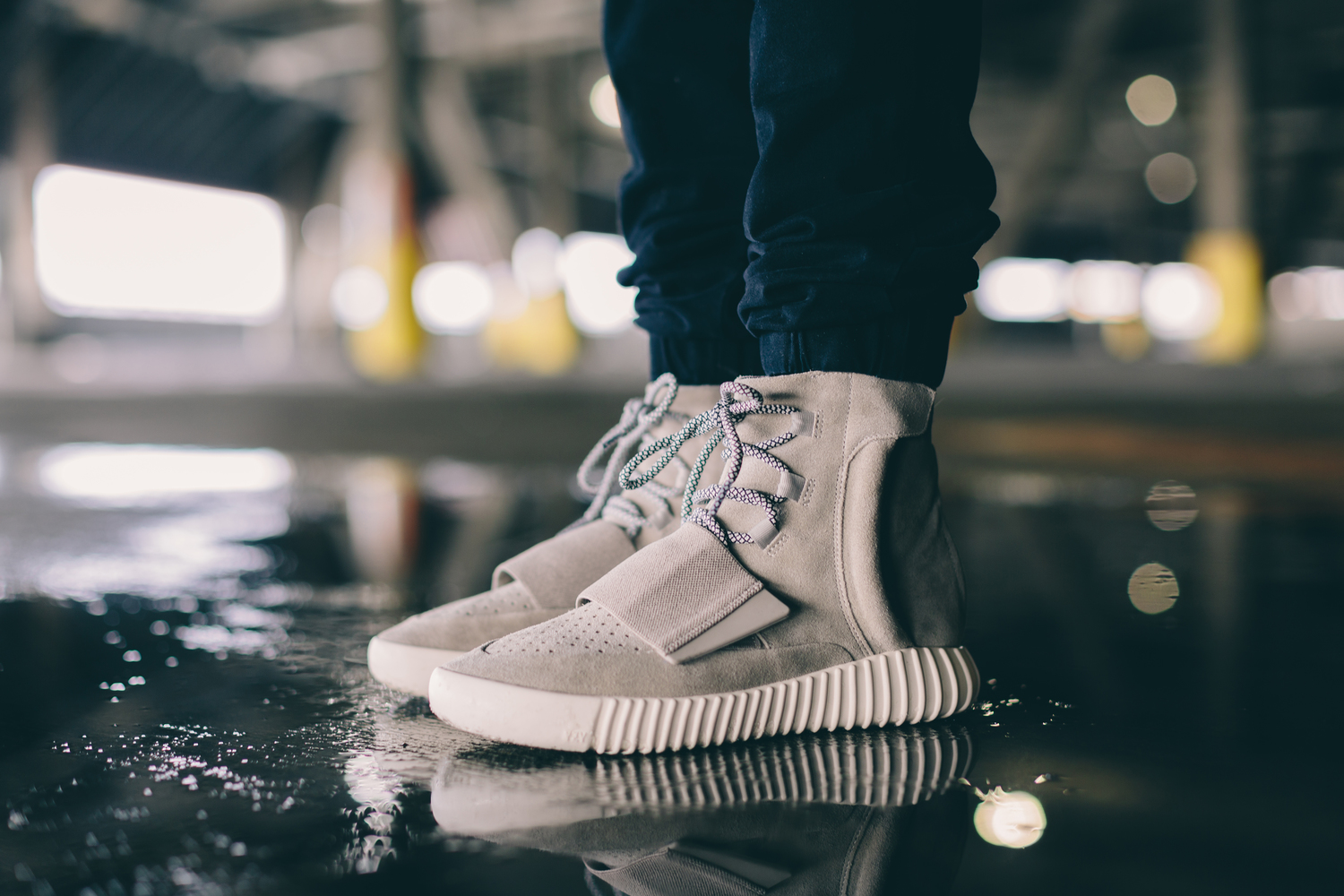 2cb7dcda On Foot Look at the Adidas Yeezy 750 Boost + Sizing Info — Sneaker Shouts
