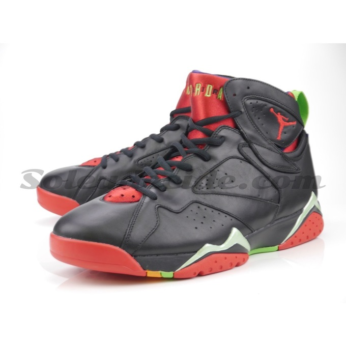 "superior quality 121c9 740ab Don t Miss This Detailed Look At The Air Jordan 7 ""Marvin The Martian"" —  Sneaker Shouts"