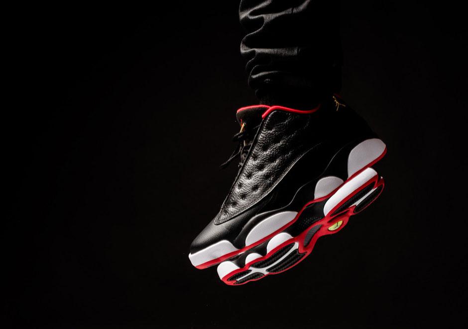 "7d3f8e84edcc0 Air Jordan 13 Low ""Bred"" (On-Feet Look) — Sneaker Shouts"