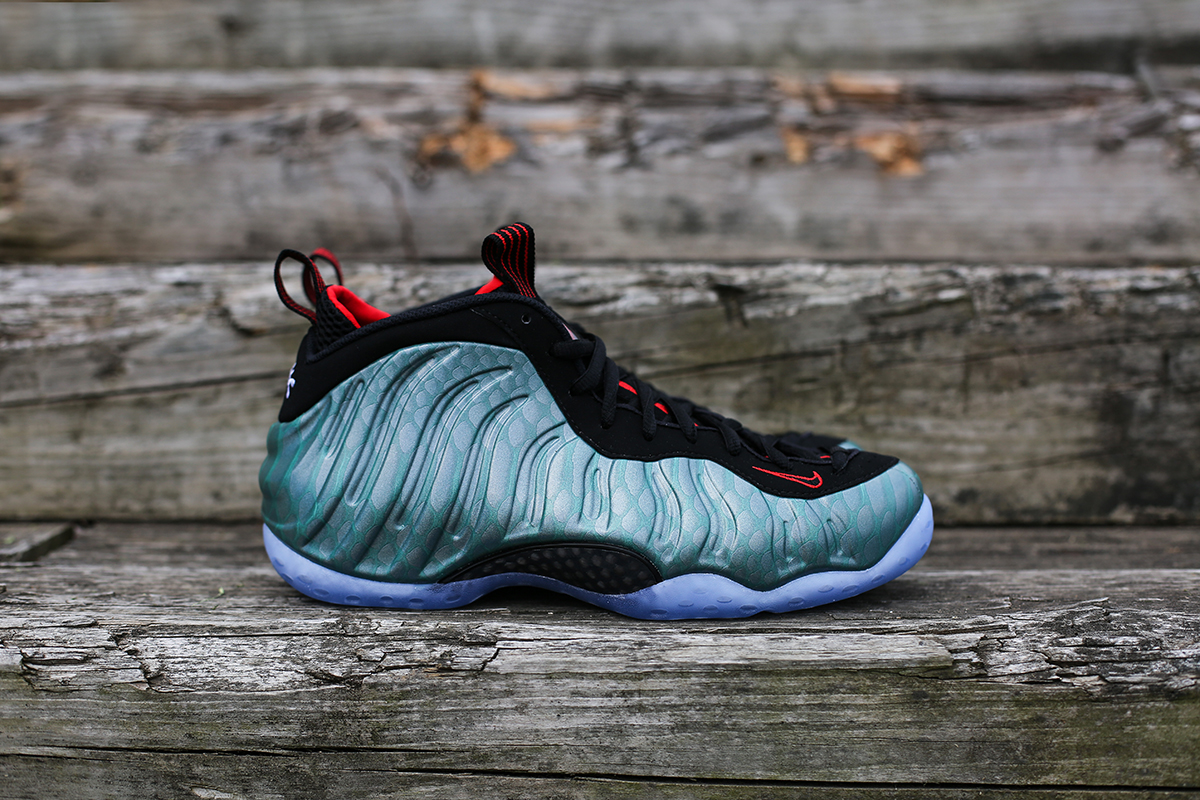 Nike Air Foamposite One Black Orange SBD