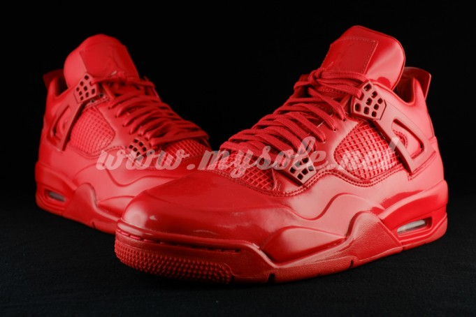 "separation shoes ed41f b8f48 The Air Jordan 11LAB4 ""Red"