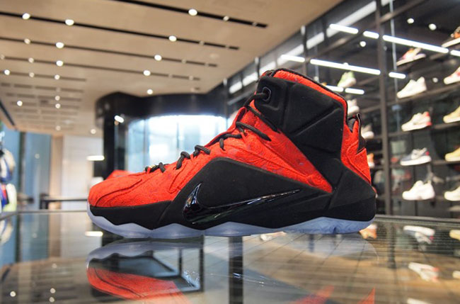 newest bd904 e6b81 ... where to buy check out the nike lebron 12 ext red paisley u2014 sneaker  shouts 58057