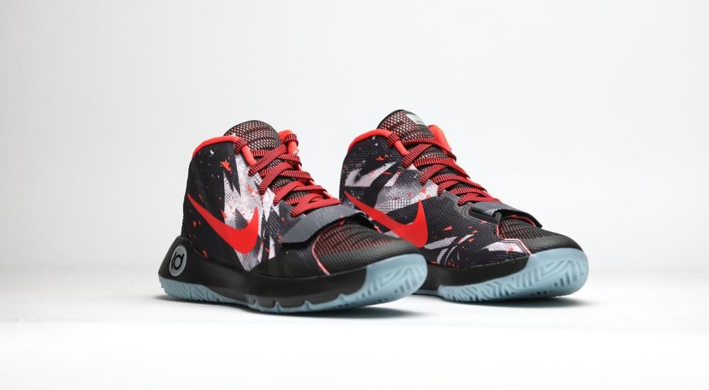 Nike KD Trey 5 III Black Red Sneaker