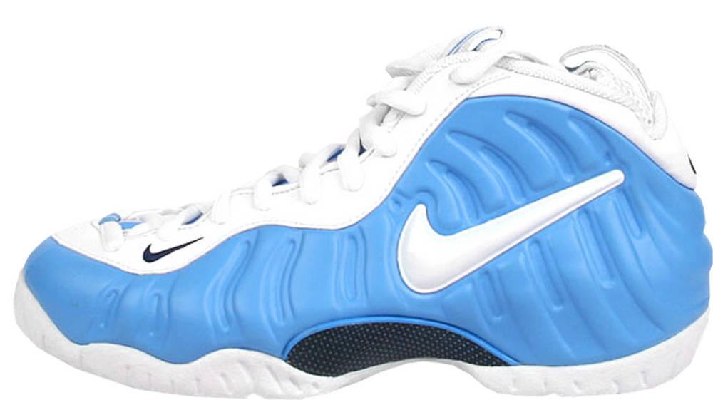 1cc2cd1fe85 Nike Air Foamposite Pro Carolina Blue University Blue White-Midnight Navy  624041-411.
