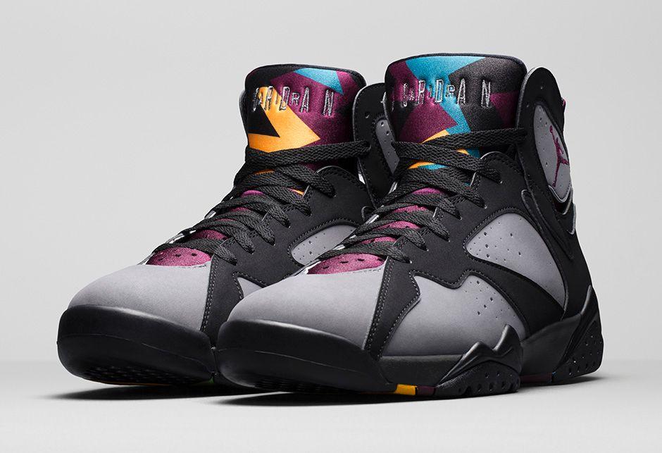 """8576c61e82b2 Official Photos Of The Air Jordan 7 """"Bordeaux"""" — Sneaker Shouts"""