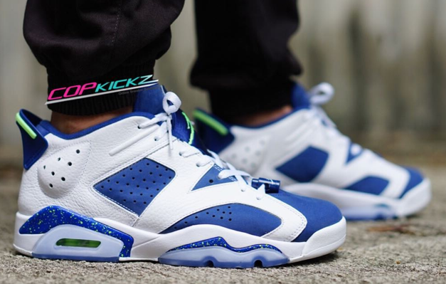 Jordan 6 Low On Feet