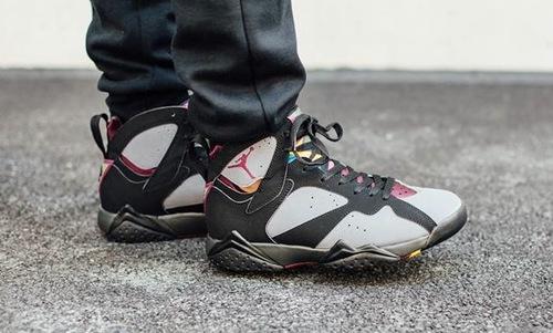 check out 88fea 7d071 Air-Jordan-7-Retro-Bordeaux-On-Feet-01.