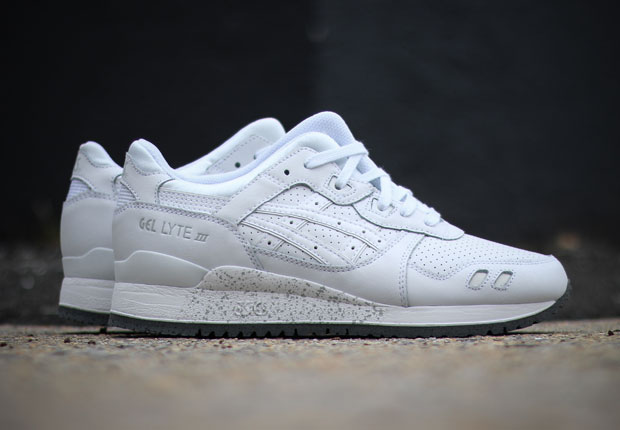 asics gel lyte 3 all white