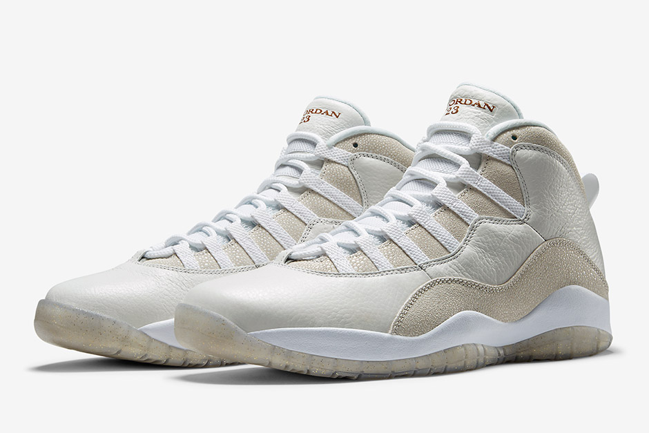 """a2ef1194aa90 Official Photos Of The White Air Jordan 10 """"OVO"""" Have Landed ..."""