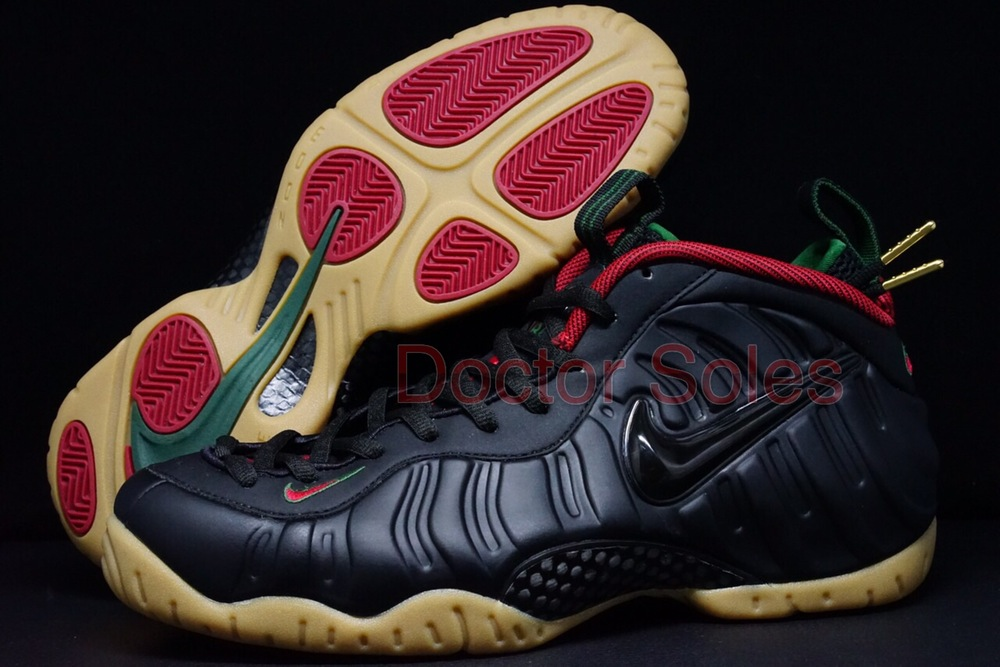 Nike Foamposite One Lakers Away SoleSwap Custom ...