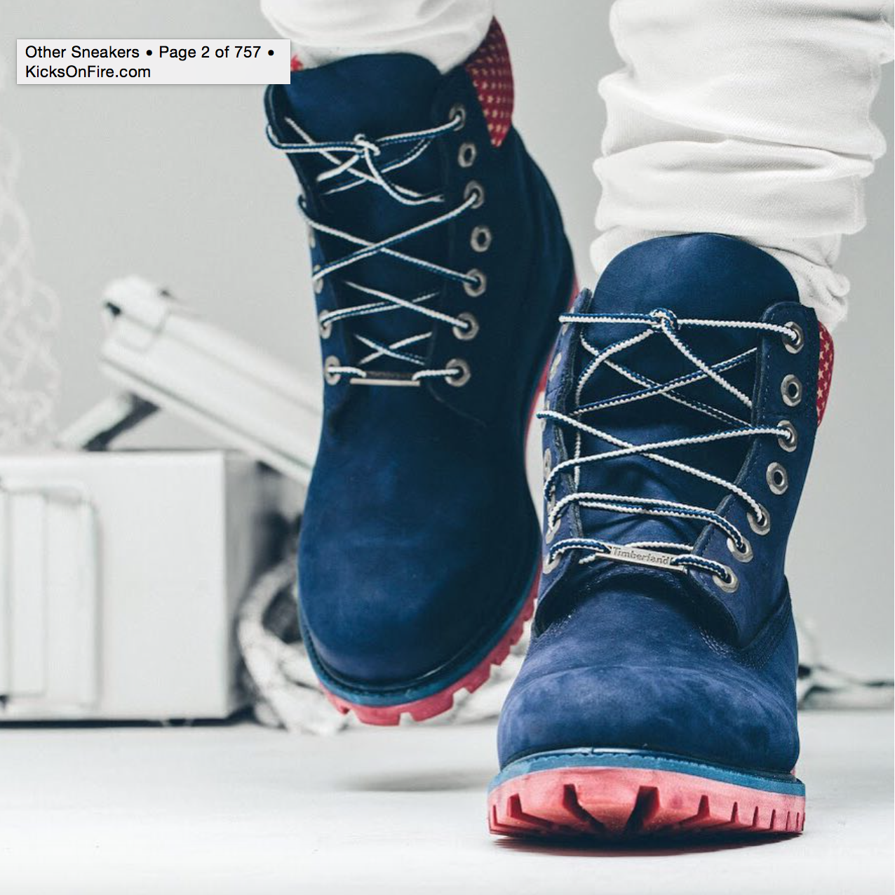 "d45409f0f86b Finally A Full Look At The Villa x Timberland 6-Inch Boot ""Old Glory"" —  Sneaker Shouts"