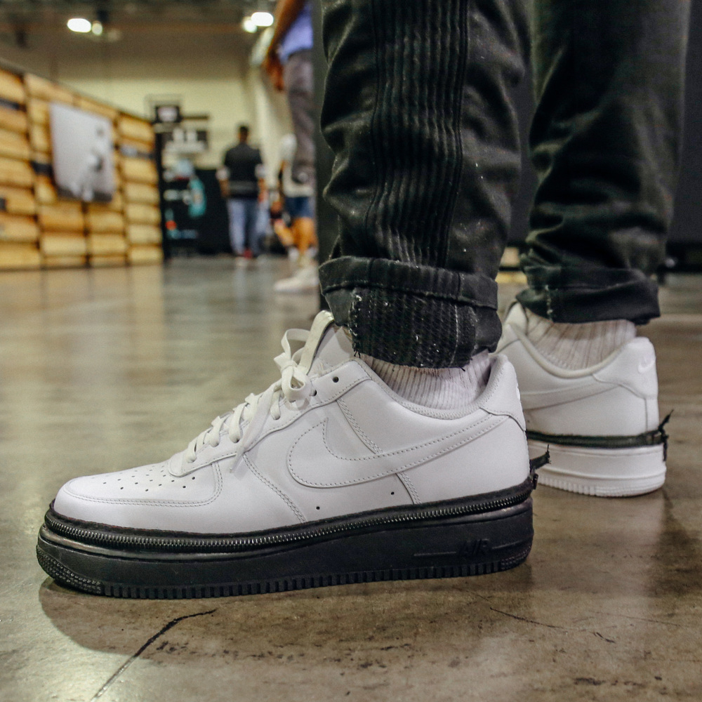 meet 3098e e08f6 On-Foot Look at John Geiger and The Shoe Surgeon Latest Nike Air Force 1