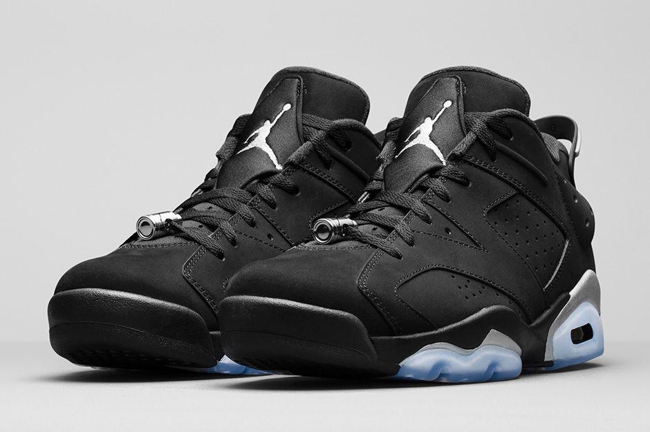 "cb0a326a0906ac Air Jordan 6 Low ""Chrome"" (Official Look) — Sneaker Shouts"