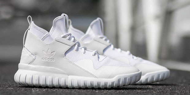 official store cost charm designer fashion Check Out This All-White adidas Tubular X Primeknit ...