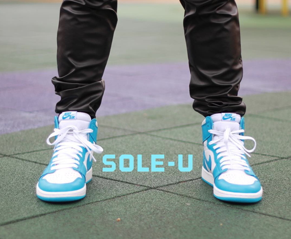 Air Jordan 1 Hi... Jordan 10 Powder Blue