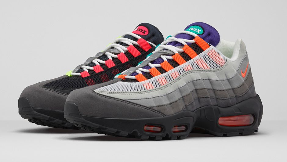 latest air max 95 sneakers