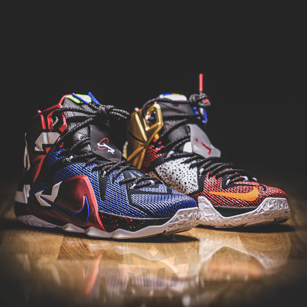 """7572093033b There s A New Release Date For The Nike LeBron 12 """"What The"""" — Sneaker  Shouts"""