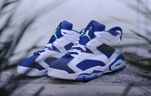 """The Air Jordan 6 Low """"Ghost Green"""" Drops This Month — Sneaker Shouts a7e60019b"""
