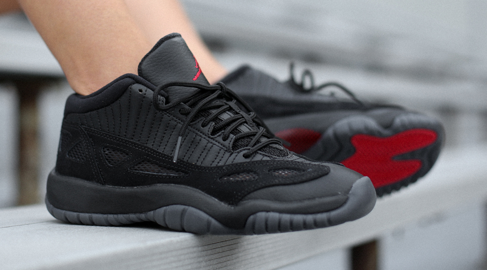 New Photos Of The Air Jordan 11 Low IE Referee Sneaker Shouts