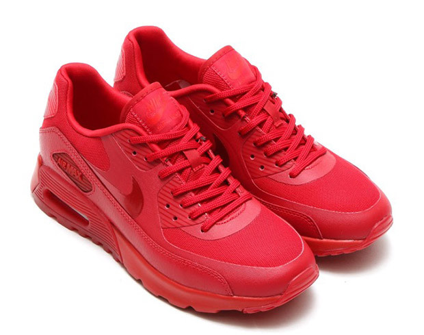 Red Nike Air Max Sneakers  76bbbbb0b